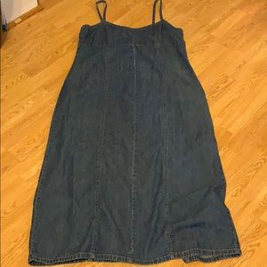 Old Navy Jean Maxi Dress